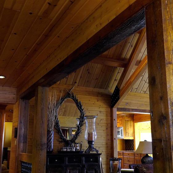 Hardwood Ceiling, Walls and Floors
